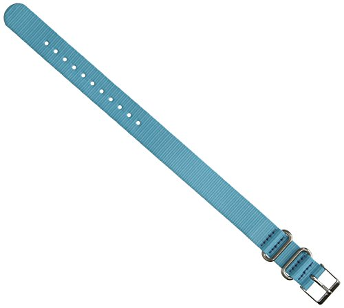 - Timex TW7C23000 Weekender Color Rush 16mm Blue Nylon Strap