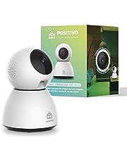 Smart Câmera 360º Bot Wi-Fi Positivo Casa Inteligente, 1080p Full HD, 25 FPS, áudio bidirecional, detecção de movimentos, visão noturna, Bivolt – Compatível com Alexa