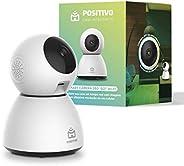 Smart Câmera 360º Bot Wi-Fi Positivo Casa Inteligente, 1080p Full HD, 25 FPS, áudio bidirecional, detecção de