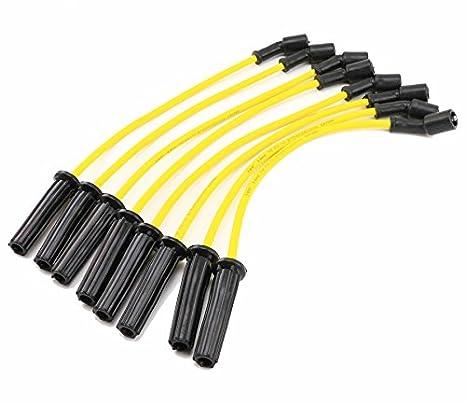 qkparts Bujía Cables Escalade Suburban H2 Avalancha V8 silicona alto rendimiento: Amazon.es: Coche y moto