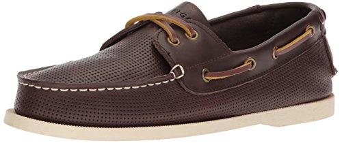 Tommy Hilfiger Men's Bowman Shoe, Dark Brown, 11.5 Medium US ()