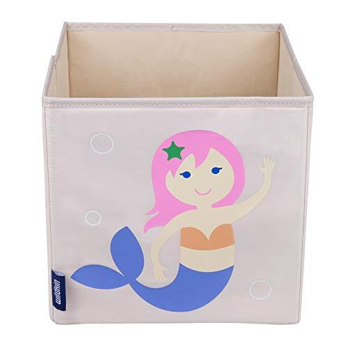 Wildkin 10 Inch Storage Cube, Mermaids