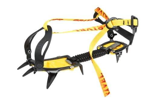 Grivel G10 Wide New Classic Black//Yellow ramponi PE19