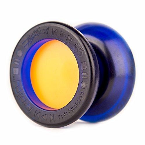 YoyoFactory Replay Pro Yo-Yo (Blue / Orange) by Yo Yo Factory