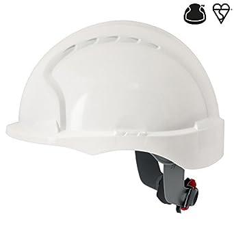 Casco JJSP AJG170-000-100 EVO3, con trinquete, color blanco