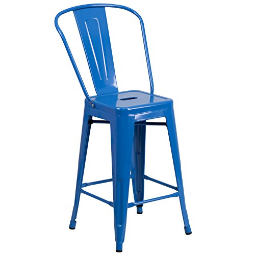 24-high-blue-metal-indoor-outdoor-counter-height-stool-with-back
