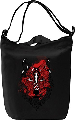 Splash Fox Borsa Giornaliera Canvas Canvas Day Bag| 100% Premium Cotton Canvas| DTG Printing|