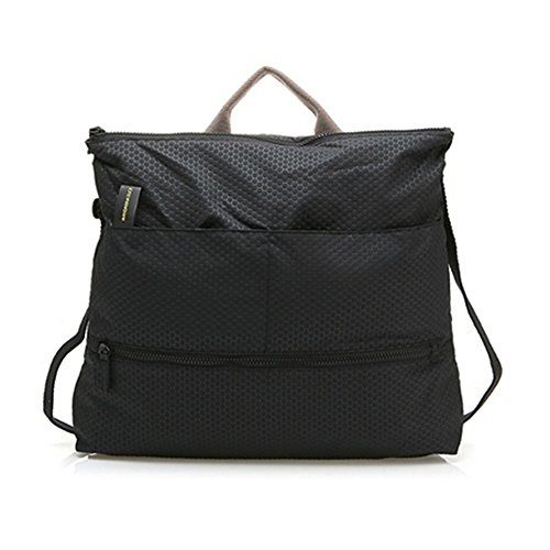 mandarina-duck-diaper-carrying-backpack-cross-shoulder-bag-dark-gray