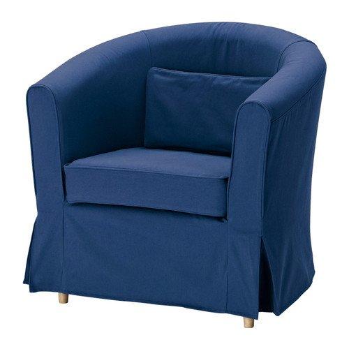 IKEA TULLSTA EKTORP - sillón magmle, Idemo azul: Amazon.es ...