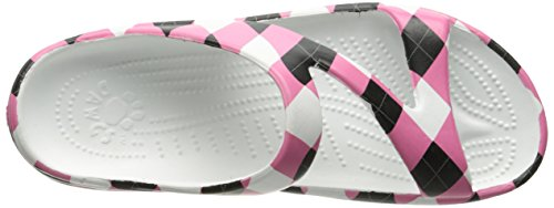 Tile DAWGS Support Pink Loudmouth Black Sandals Womens Arch Z v7zP8