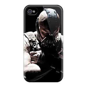 New Xbz2253faFz Bane The Dark Knight Rises Skin Case Cover Shatterproof Case For Iphone 4/4s