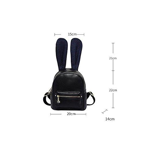 Süß - Rucksack Befinden Student Tasche Rucksack Reisen,Schwarze Im Dunkeln schwarze im dunkeln