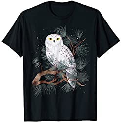 Owl T Shirt Face Spirit Animal For Bird Lover Perfect Gift