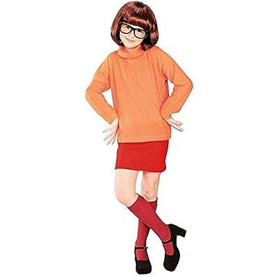 Girl's Velma Scooby Doo Costume: Clothing