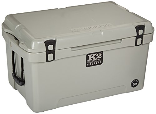 K2 Coolers Summit 50 Cooler, Gray