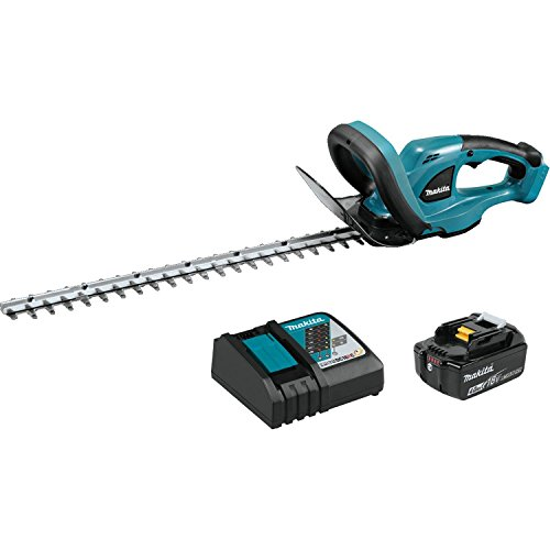 Makita XHU02M1 18V LXT Lithium-Ion Cordless 22' Hedge Trimmer Kit (4.0Ah)