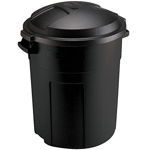 Rubbermaid Can, 20-Gallon, Black ()