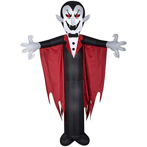 Airblown Inflatable Halloween Vampire with Cape 12' Tall by Gemmy