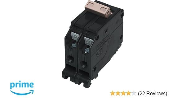 Cutler Hammer CH CH260 2 pole 60 amp PLASTIC HOOK Circuit Breaker