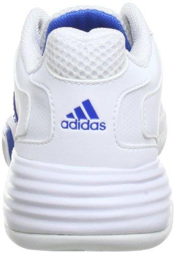 adidas Performance Barricade Team 2 xJ Q22297 Unisex-Kinder Tennisschuhe Weiß (Running White Ftw / Prime Blue S12 / Prime Blue S12)
