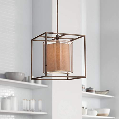 Double Cube Pendant Light