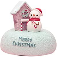 Wumedy Christmas Cartoon Cute Shape Music Bell Rotating Music Box Gift Shoulder Bags