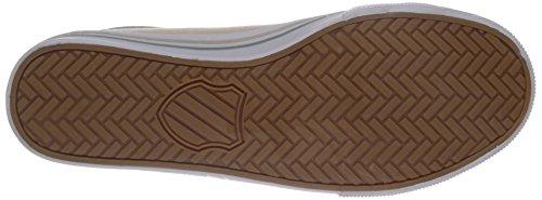K-Swiss Men's Bridgeport II Fashion Sneaker Sandshell/Granite Green/White cRv5l