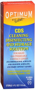 Lobob Optimum CDS Cleaning, Disinfecting and Storage Solution - 4 oz, Pack of 4