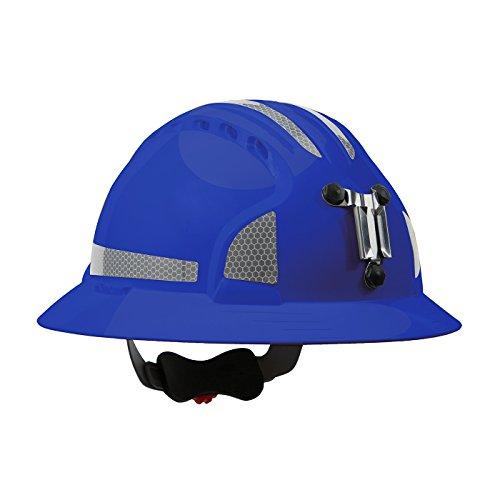 JSP 280-EV6161MCR2-50 Evolution Deluxe 6161 Full Brim Mining Hard Hat with CR2 Reflective -