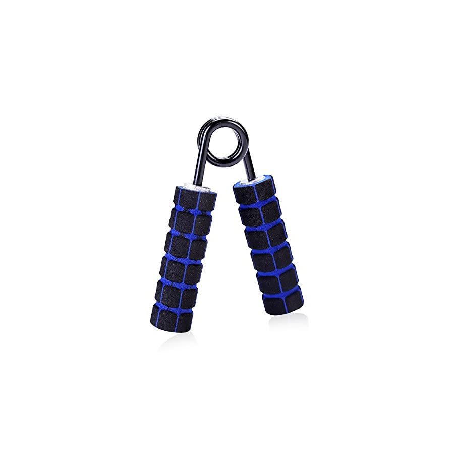 Lamstrong Hand Grip Strengthener 150lb Resistance Removable Foam Grips