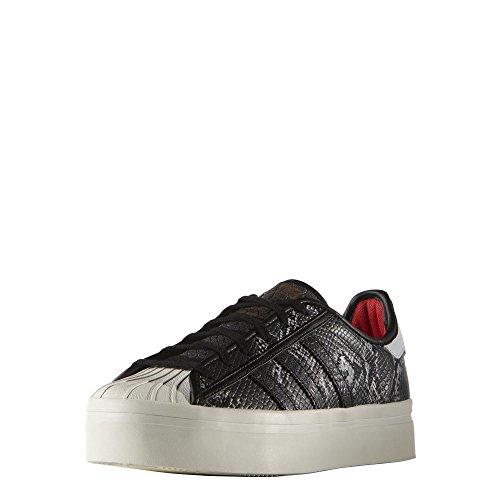 Adidas Originals SUPERSTAR RIZE W Zapatillas Sneakers Negro Blanco para Mujer