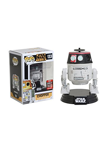 [Funko Pop! Star Wars Rebels Chopper #133 (2017 Star Wars Celebration Exclusive)] (Star Wars Chopper)