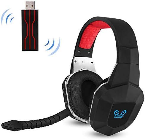 EasySMX [Virtual 7.1 Sonido] 2.4GHz Auriculares Gaming ...