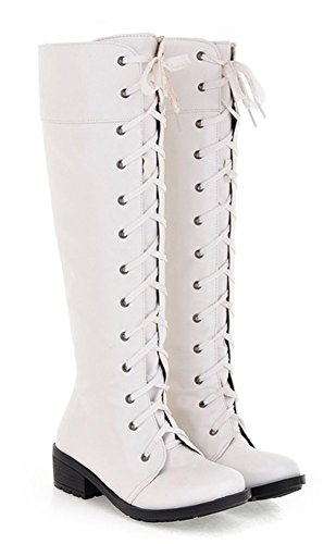 Popuu (White Sexy Boots)