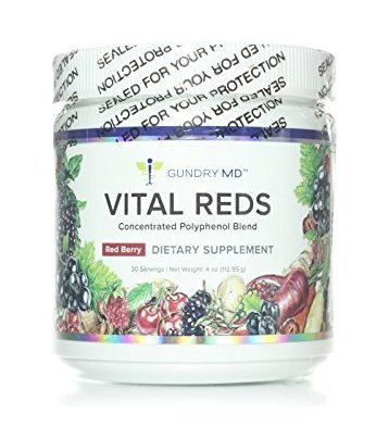 Gundry MD Vital Reds Concentrated Polyphenol Blend Dietary Supplement 4 oz (112.95g) by Gundry MD