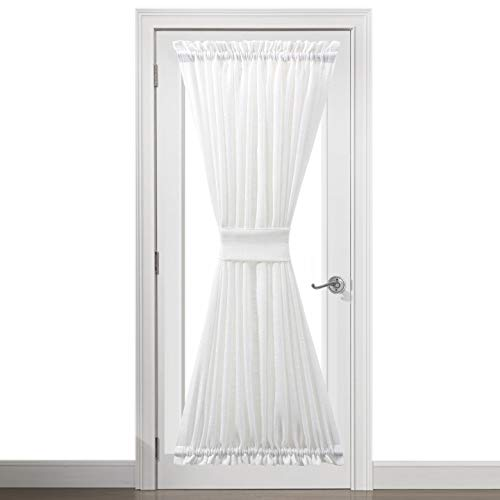 lace door panel curtains - 8