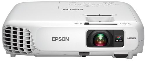 Epson Home Cinema 600 Bright Home Entertainment Projector, HDMI, 3LCD, 3000 Lumens Color and White Brightness, Portable