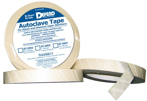 Autoclave Tape-Sterilization Tape (1/2' wide)