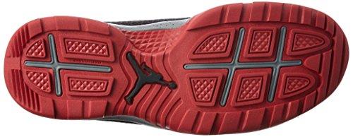Nike Menns Jordan Fremtidige Støvler Svart / Kul Grå / Gym Rød