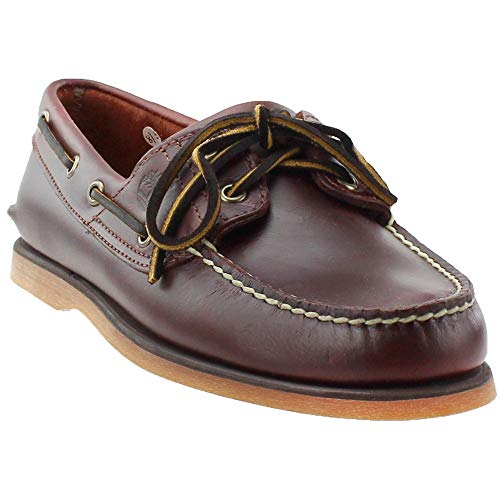 Timberland Co Classic 2 Eye Boat Shoe Mens Size: 11.5 Wide Rootbeer Smooth (Timberland Smart)