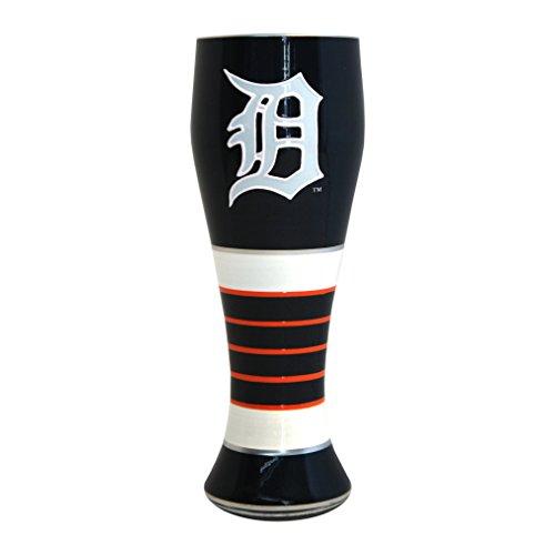 (Boelter Brands MLB Detroit Tigers 23-Ounce Artisan Pilsner Glass)