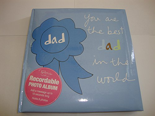 - Tapestry by CR Gibson Recordable Photo Album - You Are the Best Dad in the World