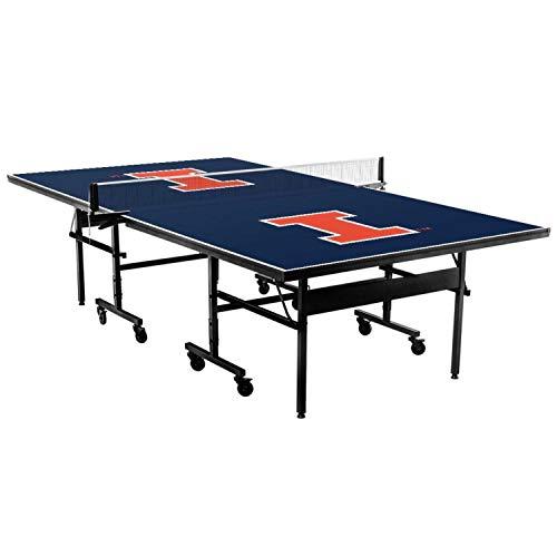 Victory Tailgate + STIGA NCAA Custom Indoor Table Tennis Table - Illinois Fighting Illini
