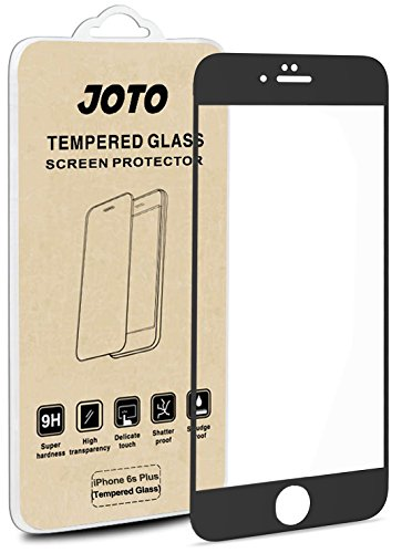 iPhone 6S Plus Screen Protector / 6 Plus - JOTO Full Screen Tempered Glass Screen Protector Film, Edge to Edge Screen Film Guard Saver for Apple iPhone 6S Plus / - Charger Car Crystal Skin Case