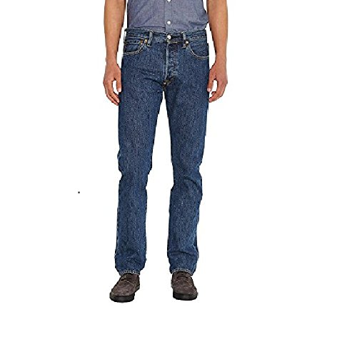 Levi's Men's 501 Levisoriginal Fit, Dark Stonewash - 30 Waist x 28 Length by Levi's