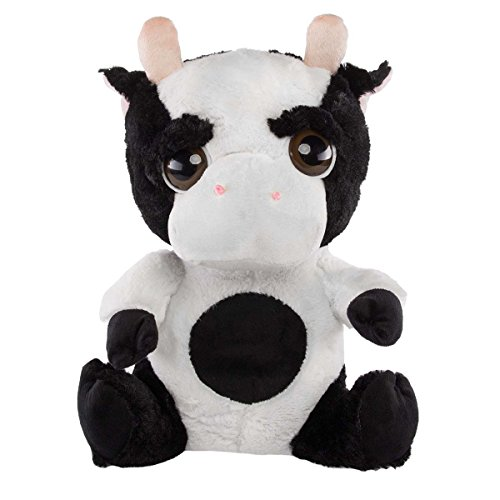 "Kellytoy Plush Large 16"" Stuffed Cow, Childrens Toy"