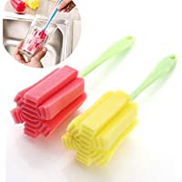 St. Lun 1 PC Kitchen Cleaning Tool Sponge Brush For Wineglass Bottle Coffe Tea Glass Cup 25cm