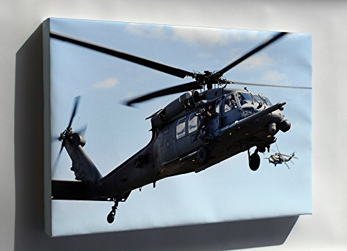 Rescue Wings (Canvas 16x24; Hh-60G Pave Hawk Helicopter 106Th Rescue Wing)
