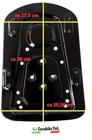 Roller Motorroller Retro schwarz Matt ca 40 L TOPCASE Antenne GEP/ÄCK Koffer NOVA
