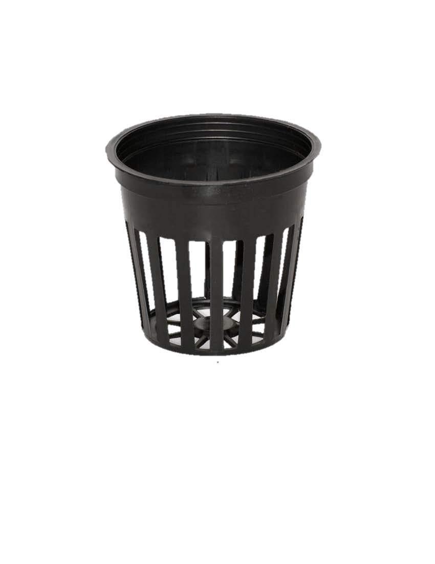 Teku 500 2 Inch Net Slit Pots for Hydroponic Aeroponic Use